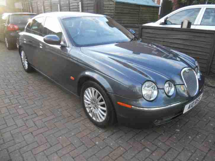 Jaguar S TYPE 2.7 V6 SEL SE AUTO FSH 2005. car for sale