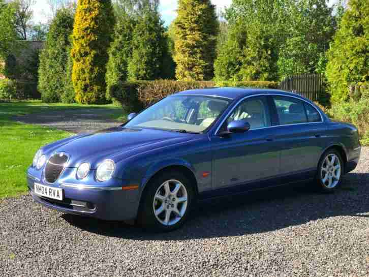 JAGUAR S TYPE 2.7D V6 AUTO SE 46.3 MPG 12 MONTHS MOT HUGE SPEC