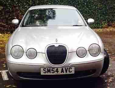 jaguar s type v6 sport manual 2004 silver car for sale. Black Bedroom Furniture Sets. Home Design Ideas