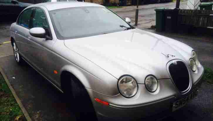 JAGUAR S-TYPE V6 SPORT MANUAL 2004 SILVER