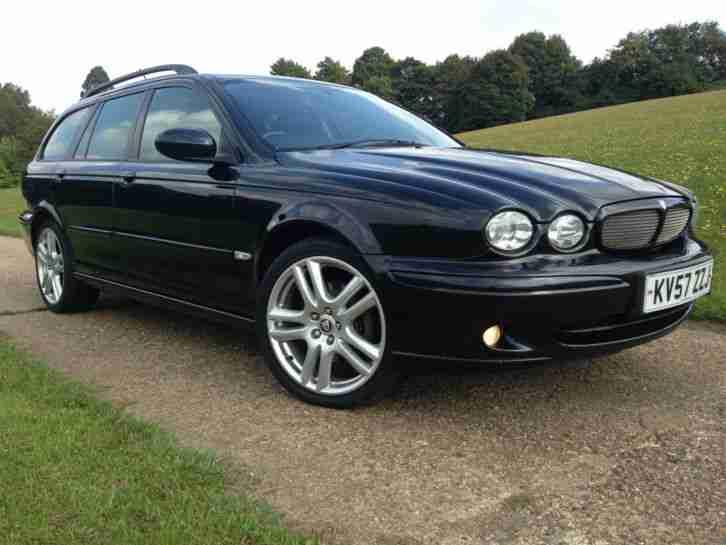 jaguar x type 2 2 diesel sport wagon six speed stunning car 57 plate. Black Bedroom Furniture Sets. Home Design Ideas