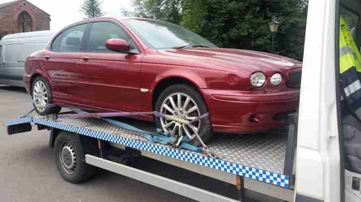JAGUAR X TYPE 3.0 PETROL SPORTS AWD SPARES OR REPAIRS