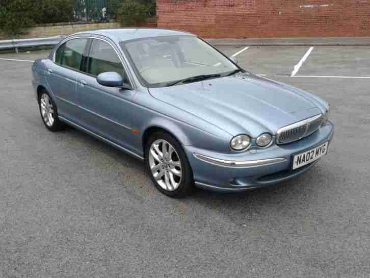 JAGUAR X-TYPE 3.0 V6 SE AUTO AWD MET BLUE S/HISTORY MOT ONLY 2 OWNERS LOVELY CAR