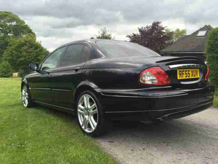 jaguar x type black 2006 2 o turbo diesel car for sale. Black Bedroom Furniture Sets. Home Design Ideas