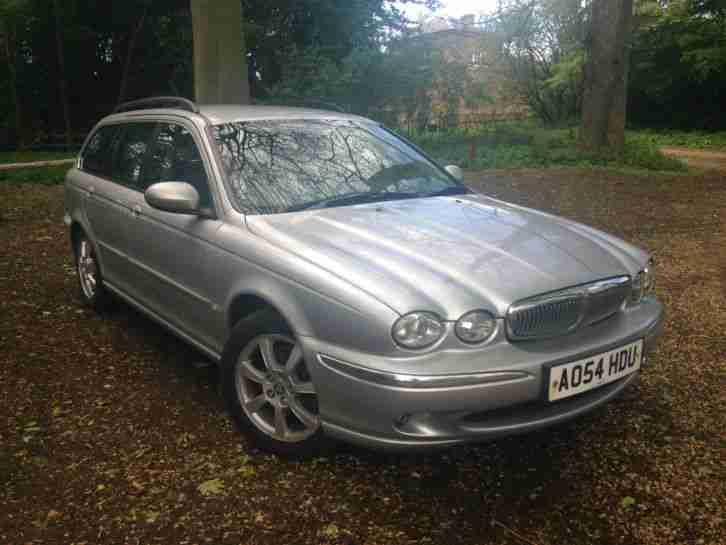 jaguar x type diesel se estate 2 0 manual full leather. Black Bedroom Furniture Sets. Home Design Ideas