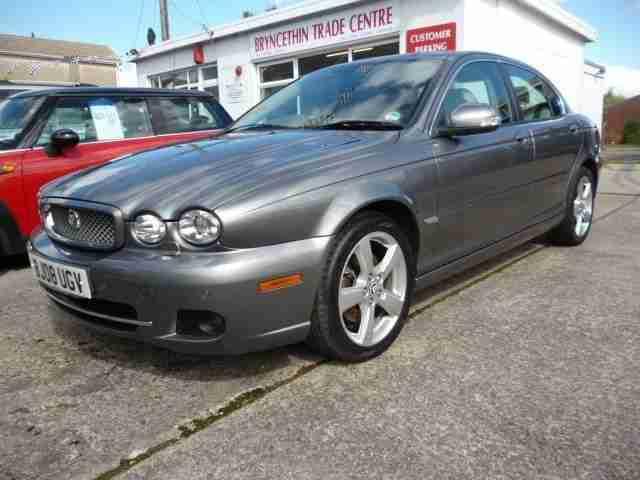 jaguar x type se 2008 diesel manual in grey car for sale. Black Bedroom Furniture Sets. Home Design Ideas