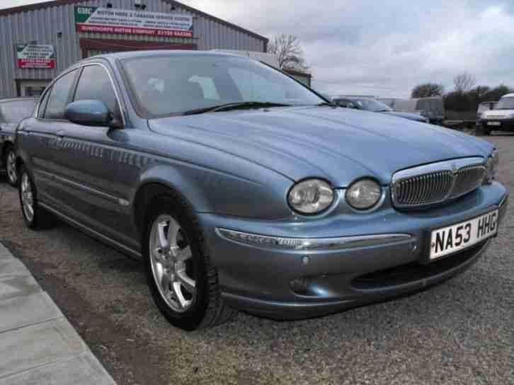 jaguar x type se diesel 2003 diesel manual in blue car for sale. Black Bedroom Furniture Sets. Home Design Ideas