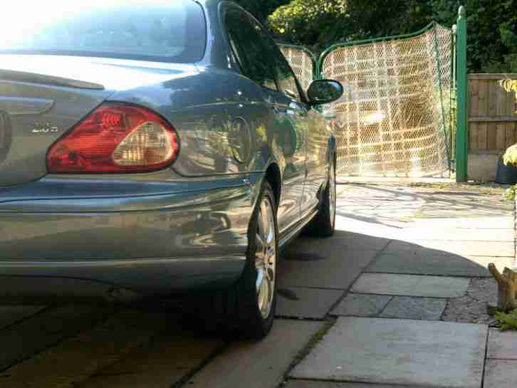 JAGUAR X TYPE SPORT 2LTR DIESEL WITH SAT,NAV SIRVICE HISTORY NEW CLUTCH