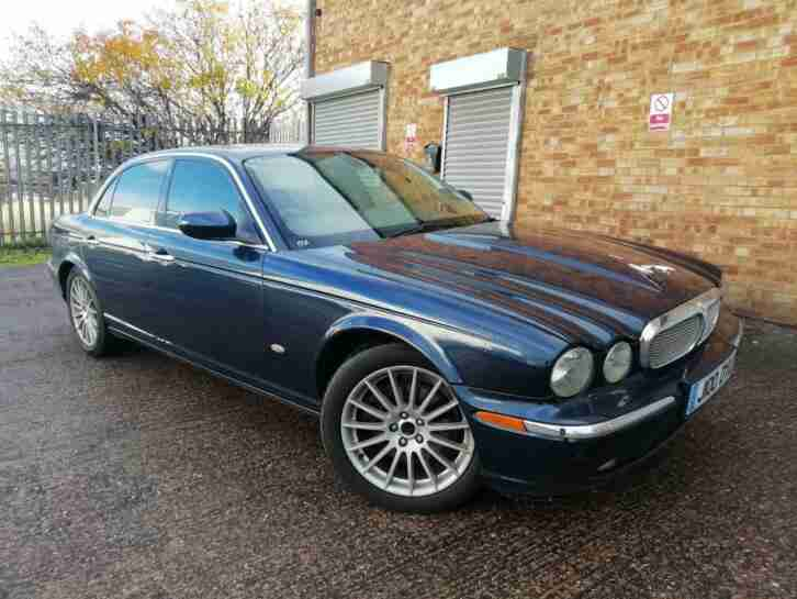 JAGUAR XJ SERIES 2.7 TDVi AUTO XJ EXECUTIVE 4 DOOR SALOON