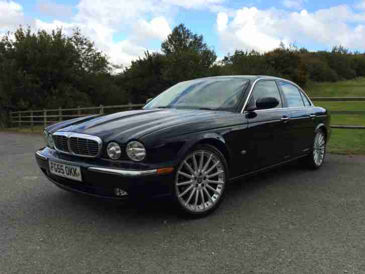 JAGUAR XJ6 3.0 V6 4DR AUTO SALOON MIDNIGHT BLACK METALLIC FULL LEATHER 2005 55