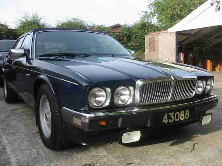 jaguar xj6 xj40 2 9 1989 saloon convertible blue manual. Black Bedroom Furniture Sets. Home Design Ideas