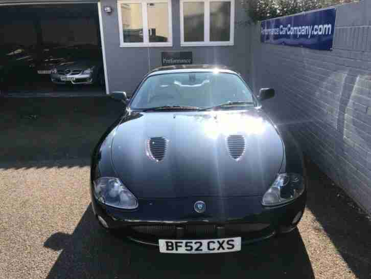 JAGUAR XKR V8 S-C Auto Only 52000 miles FSH Sat Nav 20 Alloys Cream Leather Stun