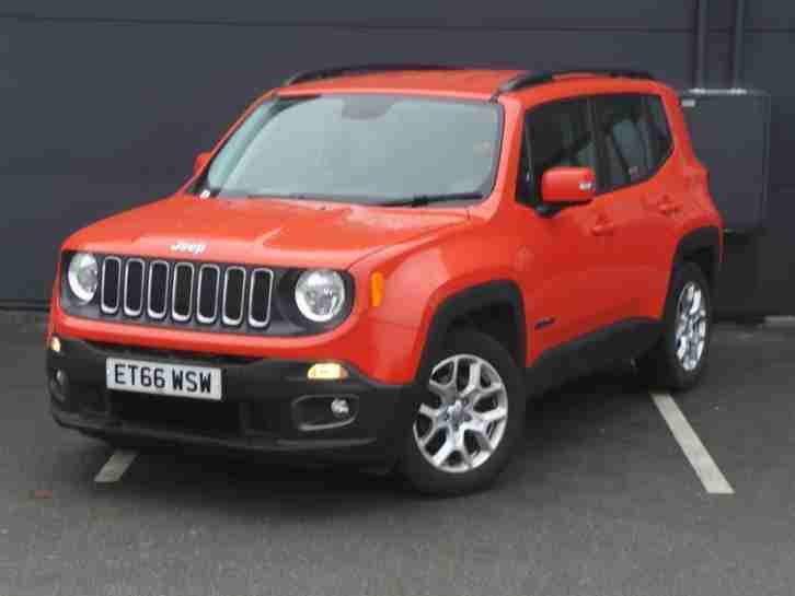 JEEP 1.6 LONGITUDE ORANGE