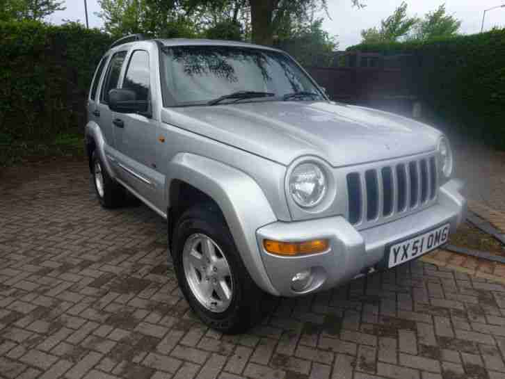 JEEP CHEROKEE 2.5 CRD LIMITED FOUR WHEEL DRIVE DIESEL 4X4 LOW MILEAGE STUNNING