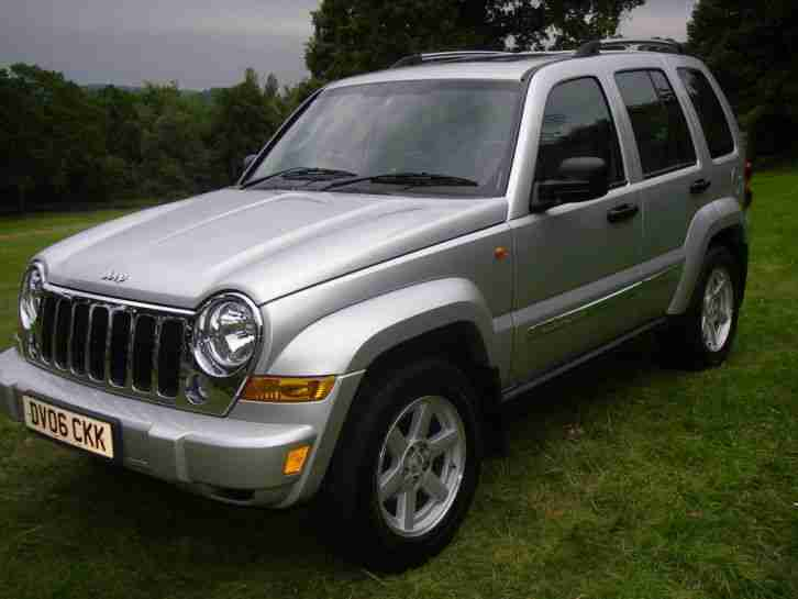 jeep cherokee 2 8 crd limited 2006 only 36k full service history car for sale. Black Bedroom Furniture Sets. Home Design Ideas