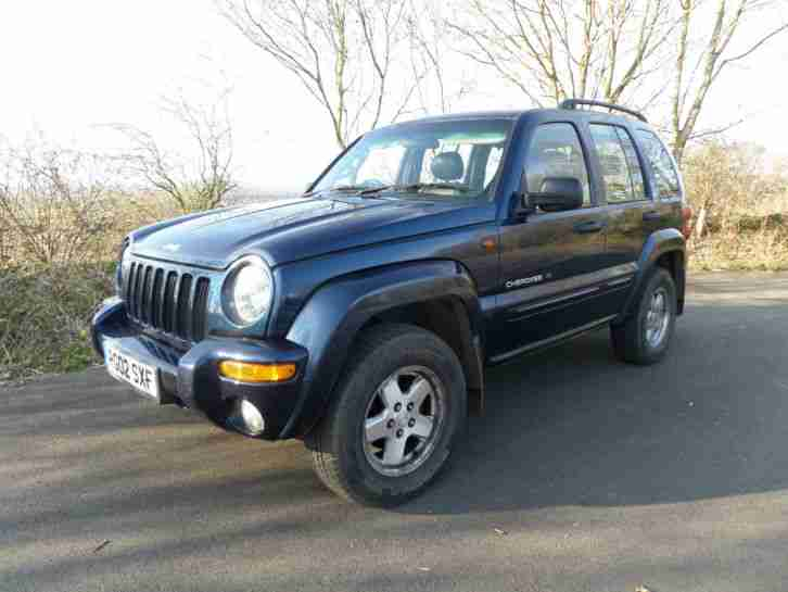 JEEP CHEROKEE LIMITED DUAL FUEL LPG AUTO 4X4 leather A/c Cruise Alloys CD S/His