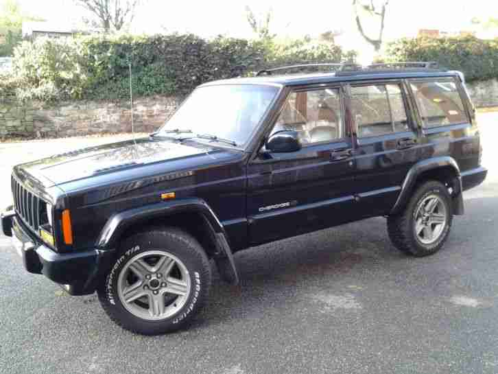 Jeep Cherokee Xj Orvis 4 0 Auto 2000x Reg Special Edition