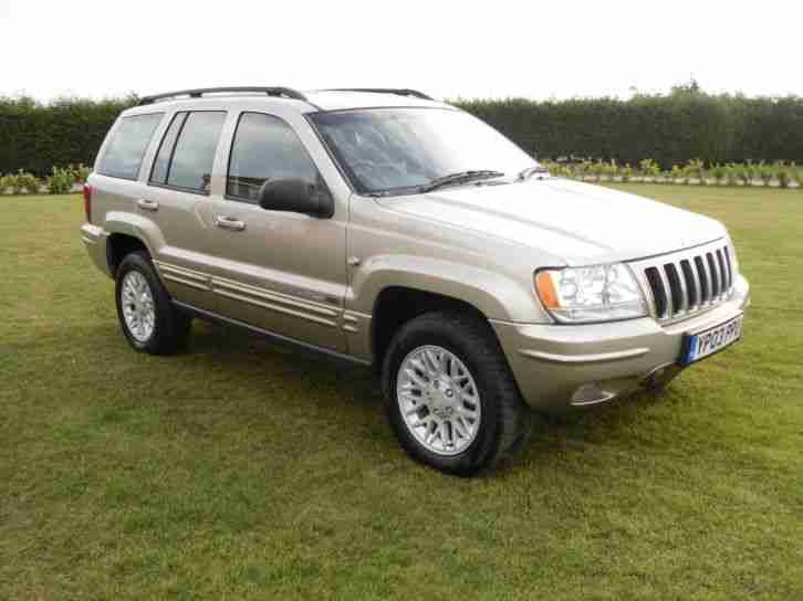 jeep grand cherokee 2 7 crd auto ltd full service history car for sale. Black Bedroom Furniture Sets. Home Design Ideas