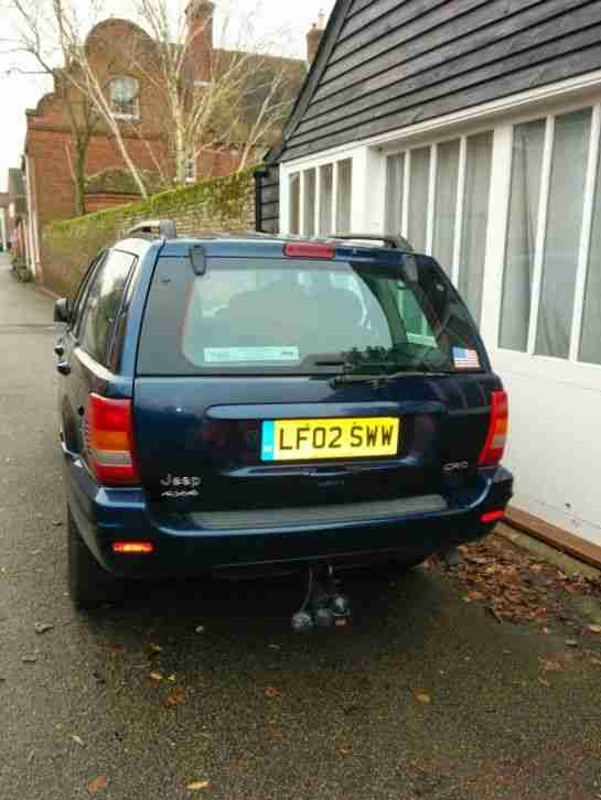 JEEP GRAND CHEROKEE 2002 2.7 LIMITED AUTOMATIC, Blue