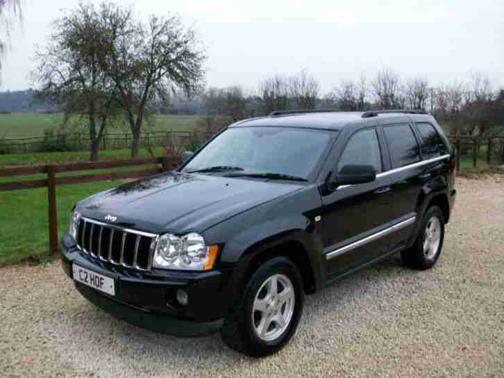 jeep grand cherokee 3 0 crd limited 4 wheel drive diesel estate car for sale. Black Bedroom Furniture Sets. Home Design Ideas