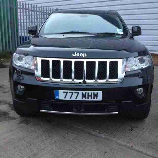 jeep grand cherokee 3 0 crd overland auto car for sale. Black Bedroom Furniture Sets. Home Design Ideas