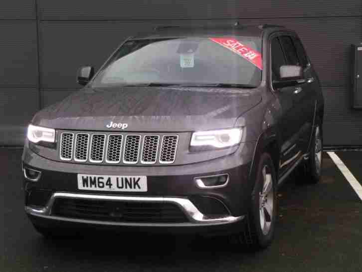 GRAND CHEROKEE 3.0 CRD SUMMIT 5DR AUTO