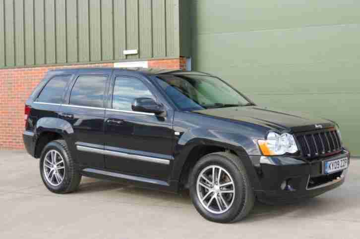 JEEP GRAND CHEROKEE 3.0 S LIMITED CRD V6 5D AUTO DIESEL 2009/ 09 REG