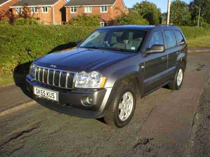 jeep grand cherokee 3 0crd v6 auto 2005 diesel 4x4 83k grey mot car. Cars Review. Best American Auto & Cars Review
