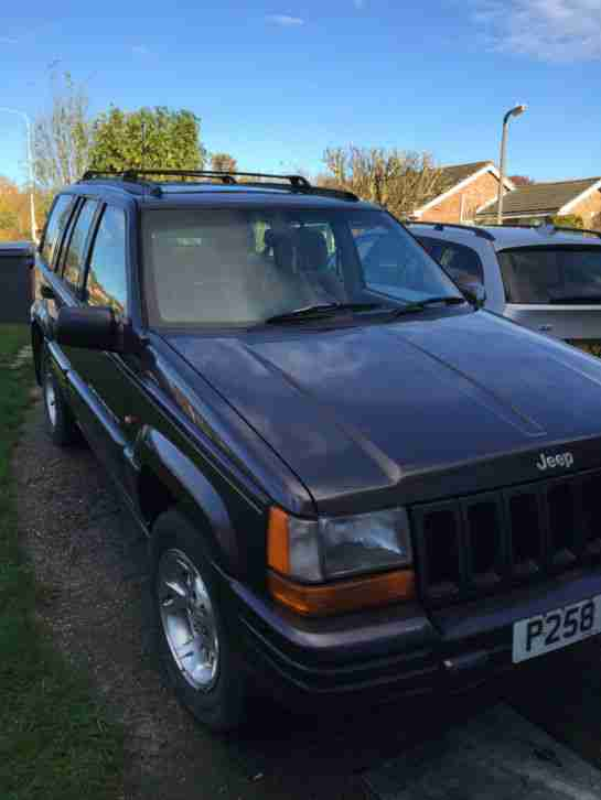 JEEP GRAND CHEROKEE,4.0 LITRE AUTO,1996