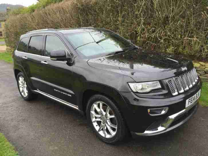 jeep grand cherokee 4wd 3 0 crd summit auto car for sale. Black Bedroom Furniture Sets. Home Design Ideas