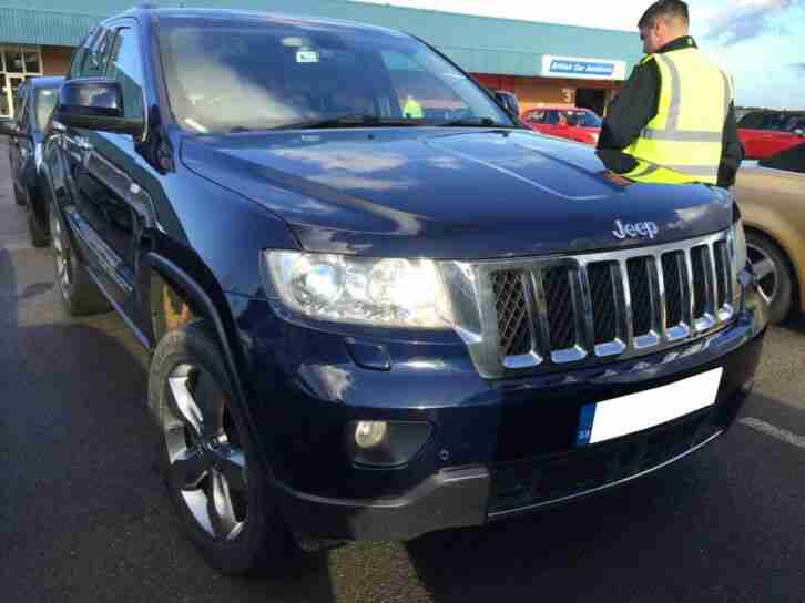 JEEP GRAND CHEROKEE CRD 3.0 OVERLAND NAV, LEATHER, PAN ROOF, 1F REC OWNER