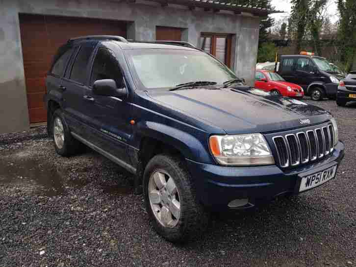 GRAND CHEROKEE CRD LTD AUTO 4WD 2.7