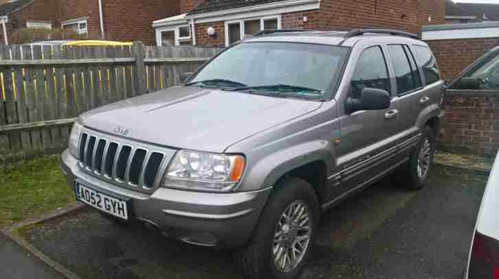 JEEP GRAND CHEROKEE CRD LTD AUTO DIESEL SPARES OR REPAIRS