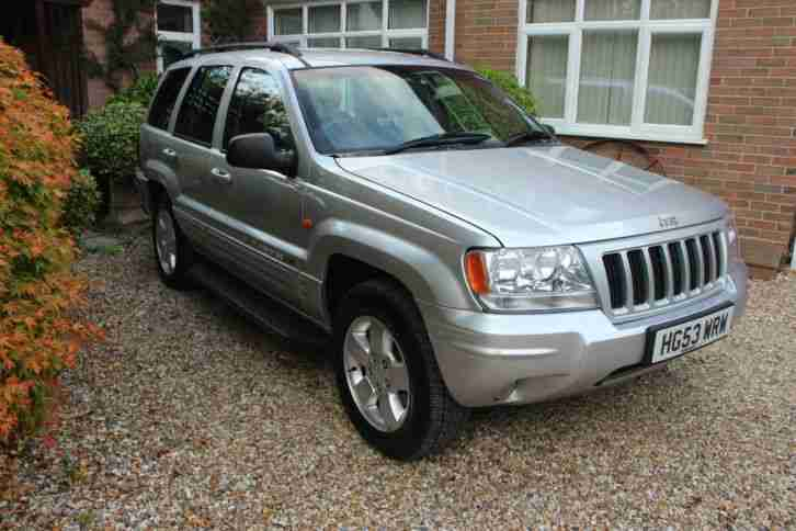 JEEP GRAND CHEROKEE LIMITED 2004 FULL JEEP SERVICE HISTORY