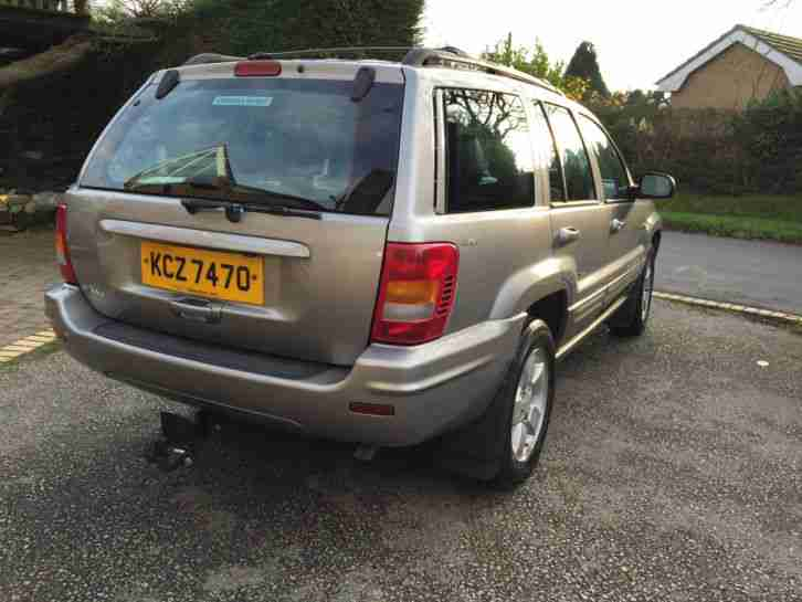 JEEP GRAND CHEROKEE LIMITED 4.0, 2001, VERY CLEAN EXCELLENT DRIVE BARGAIN £1270