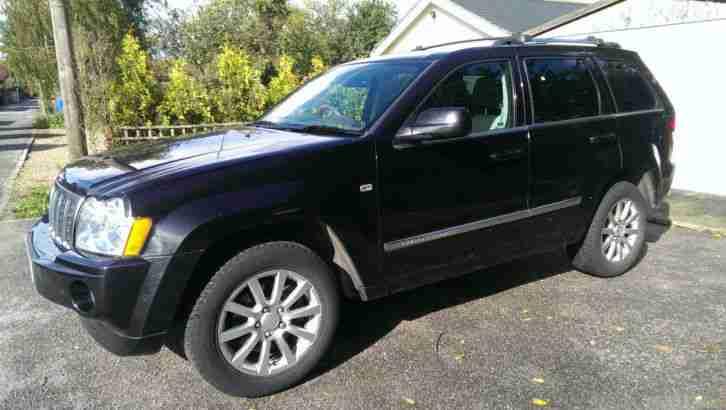 jeep grand cherokee overland crd v6 3 0 diesel auto 2008 car for sale. Black Bedroom Furniture Sets. Home Design Ideas