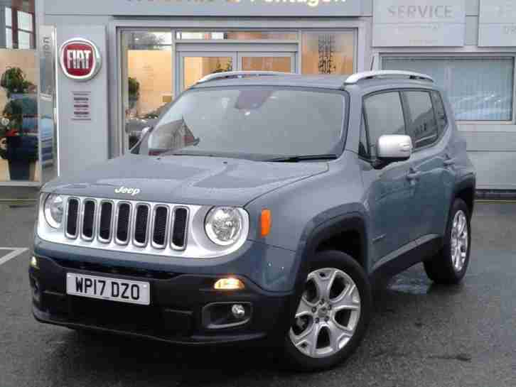RENEGADE 1.6 MULTIJET LIMITED 5DR GREY