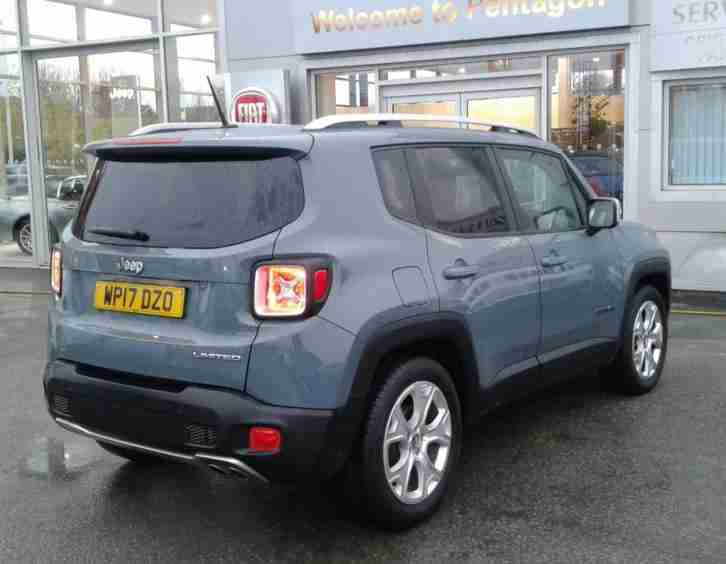 JEEP RENEGADE 1.6 MULTIJET LIMITED 5DR - GREY