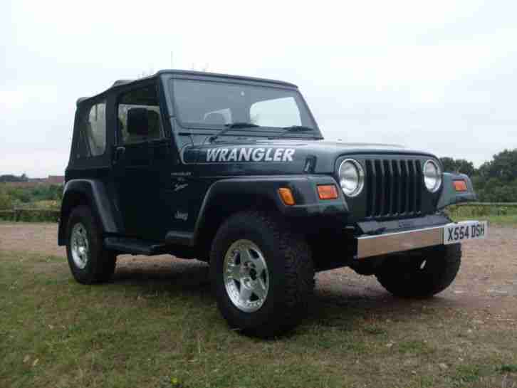 WRANGLER 2001 TJ 4.0 AUTOMATIC WITH AIR