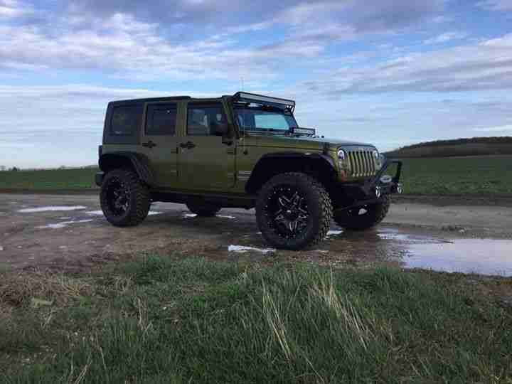 Jeep WRANGLER JK. Jeep car from United Kingdom