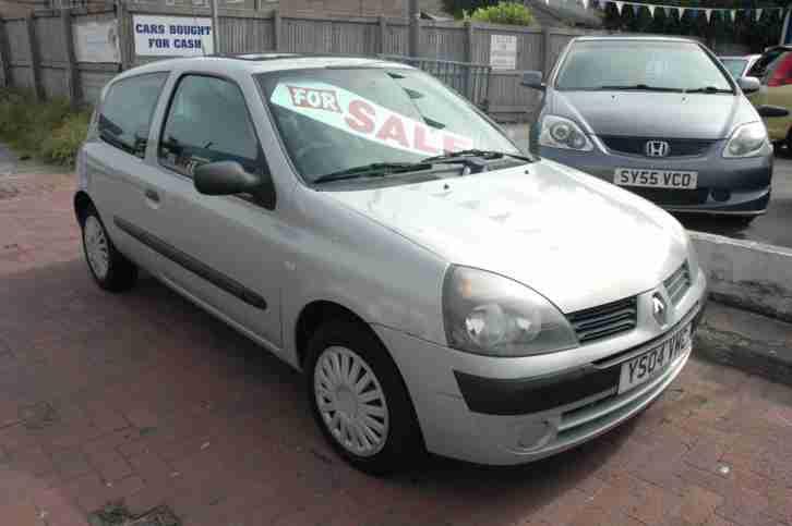 Just In 2004 Renualt Clio Expression 1 2 Petrol  Car For Sale