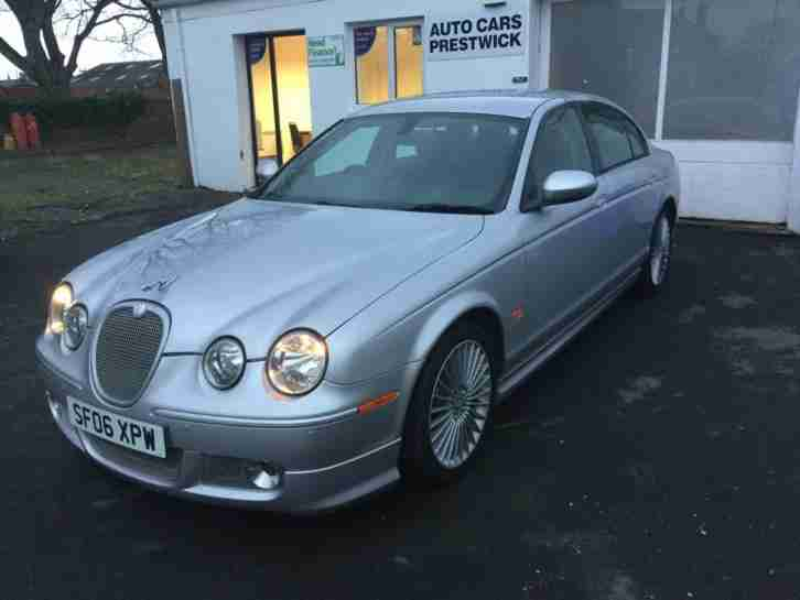 Jaguar S-TYPE 2.7D V6 auto SE 4 door saloon only 55k miles