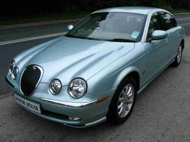 jaguar s type 2002 3 0 v6 auto se car for sale. Black Bedroom Furniture Sets. Home Design Ideas