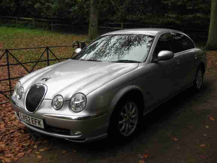 jaguar s type 3 0 v6 auto se full history car for sale. Black Bedroom Furniture Sets. Home Design Ideas