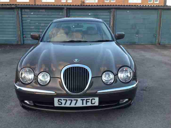 Jaguar S-TYPE 3.0 auto V6 SE * FSH * 1 FORMER KEEPER * S777 TFC * OPEN SUNDAY *