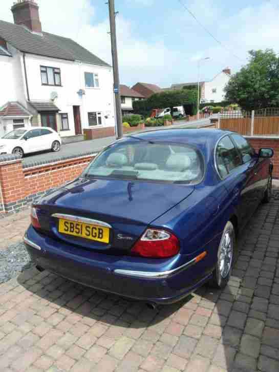 Jaguar S Type. Jaguar car from United Kingdom