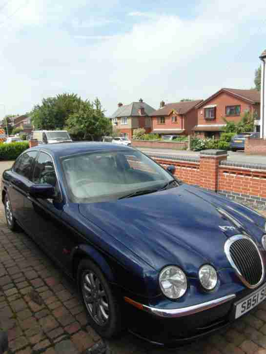 Jaguar S Type V6 Auto 3Ltr/ 2002 year, Private Plate, Garage Find Bargain