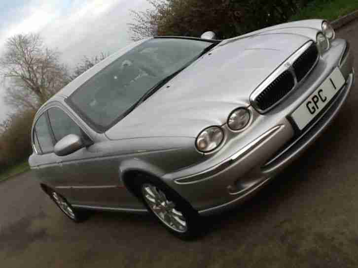 "Jaguar X-TYPE 2.5 V6 Manual 1 Previous Owner"" FULL. HISTORY ""FREE DELIVERY"