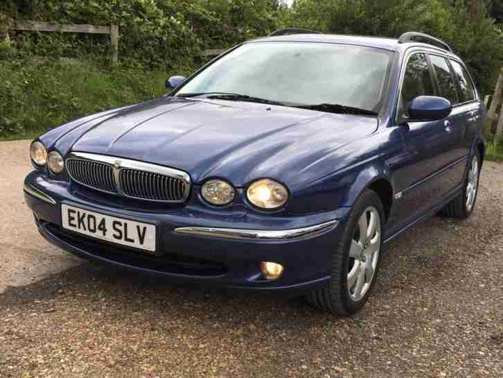 jaguar x type 2 5 v6 auto se 2004 estate 4wd miles service. Black Bedroom Furniture Sets. Home Design Ideas