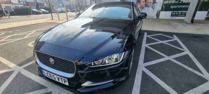 Jaguar XE 2.0TD. Jaguar car from United Kingdom